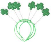 20 Bulk Shamrock St Patrick's Day Head Bopper Party Hats