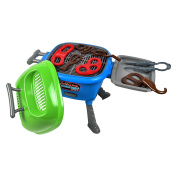 Maxx Bubble Light-up and Sizzle Grill with Lights, Sounds and Grilling Accessories
