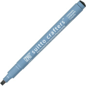 ZIG Suitto Crafters Marker Pen Calligraphy 3.5mm Tip - Black
