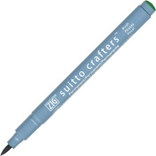ZIG Suitto Crafters Marker Pen Brush Tip - Green