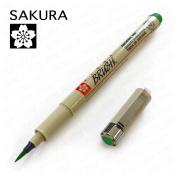Sakura Pigma - Colour Pigment Brush - Single - Green #29