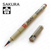 Sakura Pigma - Colour Pigment Brush - Single - Brown #12