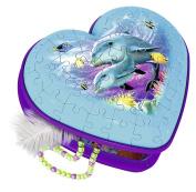 Ravensburger 3D Puzzle 12118 Heart Underwater Girls