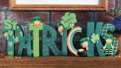 Happy St Patrick's Screen - Party Decorations & Room Decor