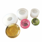 3 pcs/set Epoxy Resin Moulds,Small Dish,Big Bowl,Silicone Moulds,Transparent Jewellery Mould Making Tools, DIY Pendant Make,Gifts Handcraft