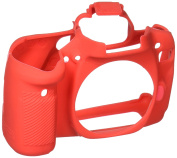 EasyCover Silicone Skin for Canon 80D Red [JU0493R]