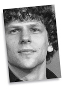 JESSE EISENBERG - ACEO Sketch Card (Signed by the Artist) #js002