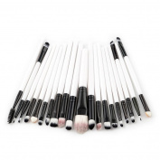 Clearance! Professional 20 pcs Makeup Brush Set tools Make-up Toiletry Kit Brand Make Up Brush Set Auwer