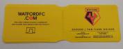 Watford FC Travel/ Oyster Card Wallet/Season Ticket Holder genuine merchandise rare