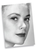 GRACE KELLY - ACEO Sketch Card (Signed by the Artist) #js004