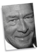 CHRISTOPHER PLUMMER - ACEO Sketch Card (Signed by the Artist) #js004