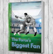 The Force's Biggest Fan A5 Rugby Notebook / Notepad / Drawing Pad