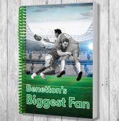 Benetton's Biggest Fan A5 Rugby Notebook / Notepad / Drawing Pad