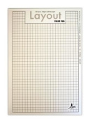 Artway STUDIO A3 'Value' Layout Pads with Layout Grid (35 60gsm Sheets) - Wholesale Pack of 50