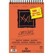 Canson Sketch Pad A4 100 + 20 Sheets 90 gsm Suitable for Pencils, Charcoal and Pastels