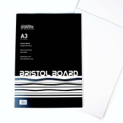Bristol Board 240 gsm 20 Sheets A3 Ideal for Technical Illustration