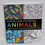 Animals Stress Less Colouring Book