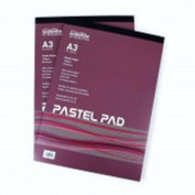 A3 Pad for Pastels, Chalks, Charcoal, Graphite, Wet Media - 30 Sheets - 160gsm - Coloured Paper/Card