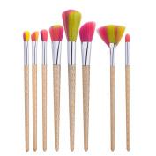 8Pcs Makeup Brush Set Mingfa.y Pencil Foundation Eye shadow Eyeliner Blending Brushes
