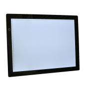 Oypla A3 Light Box Pad Dawing Board Tracing Copy Adjustable Brightness