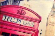 Red telephone box at Big Ben Oyster Card Holder