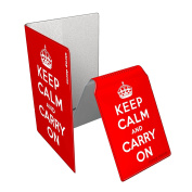 Stray Decor (Keep Calm and Carry On) Oyster Card Holder & Passport Cover Combo