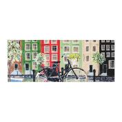 "KESS InHouse Christen Treat ""Bicycle"" Bed Runner, 90cm x 220cm"