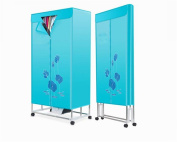 STEAM PANDA blue Home Drying Wardrobe Portable Foldable Fast Air Dry Hot Wardrobe Clothing dryer Laundry Clothes Dryer