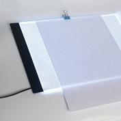LED Light Pad, Animation Tracer Light Box Drawing Copier Desk Eye Protection Design A4 Touch Lightness Adjustable Smart for Artist Professional Carton Make Sketch Education Design Doctor Children
