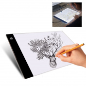 LED Copy Board,Mytobang A4 Ultra Thin LED Drawing Copy Tracing Light Box Track Light with Brightness Adjustable Tattoo Sketch Architecture Calligraphy Crafts For Artists,Drawing,Children,Sketching A4