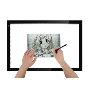 A5 LED Light Box(30x20cm) Tracing Light Pad Drawing Pad for Artcraft Tracing with USB Cable