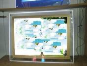 Gowe Crystal led photo light box, 60cm x 90cm led photo Light Box sign 5 Pcs