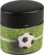 Brunnen 102989138 Sharpener Double Sharpener Football, 5 x 2.5 x 5 cm Oval with Dust Cap)