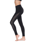 EPMIC Yoga Leggings for Women Black Sport Elastic Pants Workout Tights Stretch XS,S,M,L,XL Size ,three different types