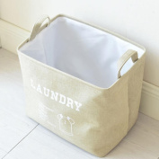 SMILEQ Creative Laundry Barrel Waterproof Storage Basket Portable Sundries Dirty Bag