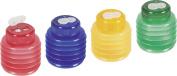 Brunnen 1029899 Sharpener Softie 5.5 x 6.5 cm with flexible Unbreakable Double Sharpener Lid, 3 colours