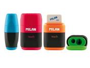 Temperówko gumka Milan Compact Touch 16 sztuk
