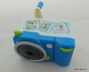 Blue Camera Shape Mechanical Pencil Sharpener