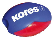 KORES - Taille-crayon BEETLE, forme ovale, couleurs assorties