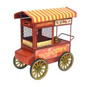 Old-Fashioned Popcorn & Ice Cream Cart Centrepiece