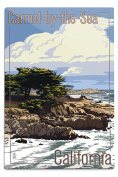 Carmel-by-the-Sea, California - View of Cypress Trees