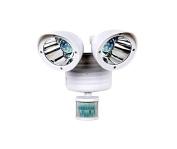 PU Health Dual Led 360 Degree Spotlight 6V 0.5W Motion Detector & Movement Sensor, Black