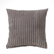 """Charcoal 24"""" (60cm) Soft Touch Jumbo Cord Scatter Cushion"""