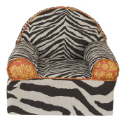 Cotton Tale Designs Floral Zebra Animal Print Baby/Toddler Chair, Sumba