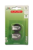 Eliplast Round Stainless Steel Hook, Silver