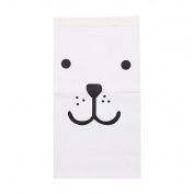 wuayi Laundry Pouch for Baby Toy Recycle Bag Heavy Kraft Paper Bag Children Room Bag Patterns