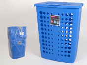 Curver VICTOR Laundry Basket for Clothes, 60 L