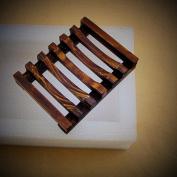 Gotd Bath Accessories Handmade Natural Wood Soap Dish/Soap Holder