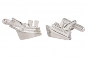 Cruise Ship Nautical Cufflinks In Onyx Art Cufflink Box