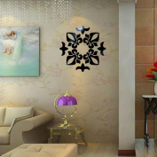 Wall Murals,certainPL Creative Abstract Acrylic Style 3D Wall Stickers Mirror Ceiling Wall Mirrors